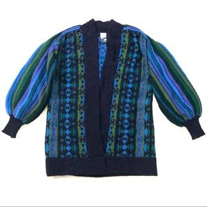 Vintage MARGARET HYNE Pure Wool Cardigan Jumper
